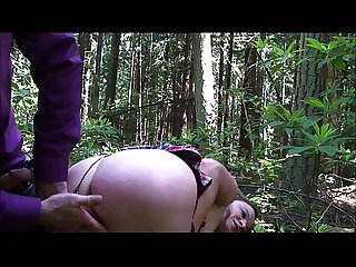Cheerleader fucked in the woods erin electra
