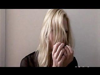 Hannah gets a facial