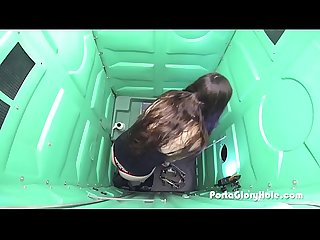 Porta Gloryhole girl 18 and never before seen
