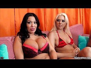 Sienna west and kodi gamlble threesome