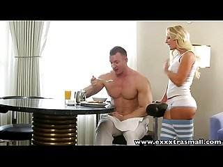 exxxtrasmall boning petite blonde for breakfast