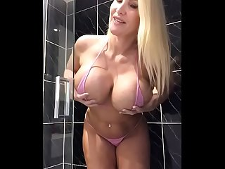 Sophie james dirty shower play