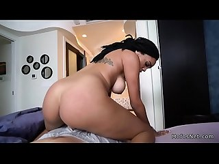 Black nurse in uniform fucks bf