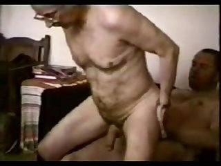 Older men and mature hairy grandpa sex