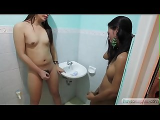 Asian shemales shave and play