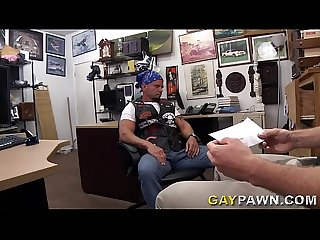 GAYPAWN - Tough Biker Dude Needs Money, So I Fuck Him In The Ass