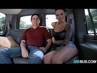Christy mack fucks a couple of dudes on the 305bus 2 4