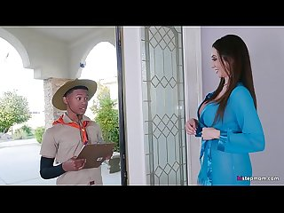 Super Hot Mature Ariella Ferrera takes Young Boy on his Safari Fantasy