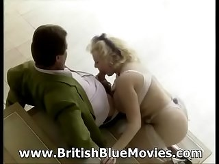 British pornstar kirstyn halborg in retro fisting action