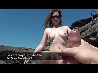 Masturbation en voiture sur l autoroute sur ma livecam pour les voyeurs