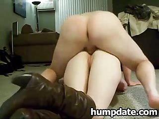 Girlfriend gets her anus slammed doggystyle