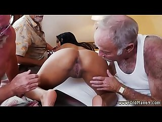 Teen babe interracial gangbang staycation with a latin hottie