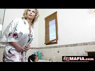 Mature Bossy Mother-in-Law Phoenix Marie Dominating Petite Cindy Starfall