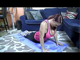 Mommy joi while doing yoga more joi fantasies on joislut com
