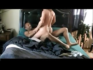 Wife interracial while husband at work