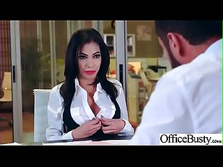 Slut sexy girl shay evans with big round boobs in sex act in office video 27