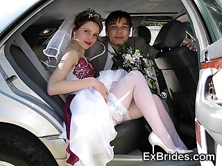 Real exhibitionist brides