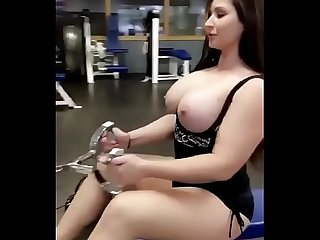 Indian girl doing sex in gym