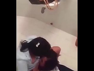 Latest Scandal - Indian Mumbai Lesbian Horny Girls Fingering in Public Toilet