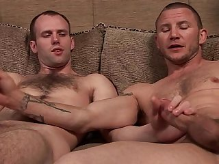 Str8 6 6 hung stud and his bi gay4pay porn buddy