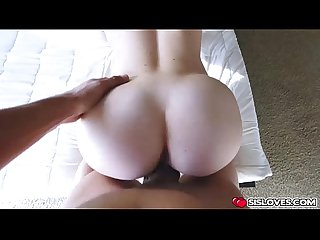 Horny sweet babe Amy Summer fucks a big cock