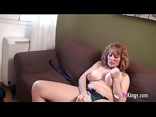 Big boobed nuria s great masturbation