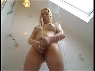 Full cum over glass always horny