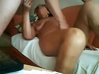 Reciprocal masturbation with my old wife.