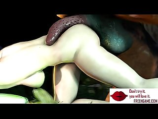 Gameplay busty elf fucked by big dick troll monster freehgame com