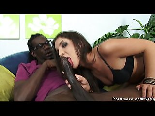 Giselle Leon is in Love with John E Depth's Big Black Cock