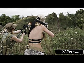Call of duty Xxx parody jasmine jae comma Monique alexander comma stella cox