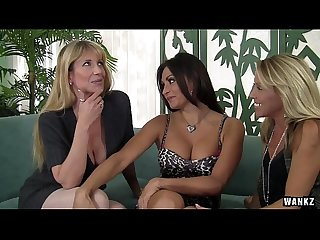 Wankz three stacked milfs slut up