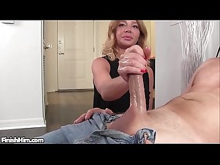 Cute Milf Made him CUM to FAST