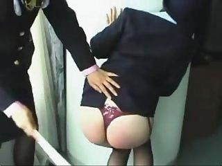 060 flight attendant spanking