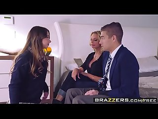 Brazzers - Moms in control - The Loophole scene starring Briana Banks, Taylor Sands and..