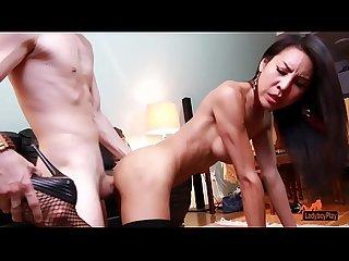 Ladyboy Thippy69 - No hand cum