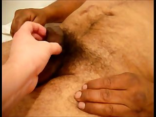 Amateur hairy old man