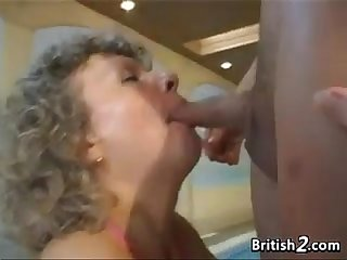 Granda from britain fucked and creampied