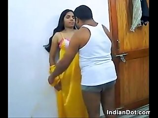 Indian couple get naked and just fuck