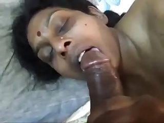 Renu sucking big black penis of her husband lpar New rpar