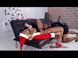 Daddy gets that Christmas / Xmas pussy from Nina Rivera