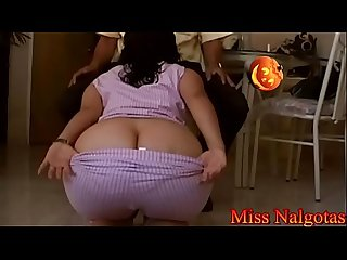 Bigbutt stepmom and bulging buttocks- 30-stepblow