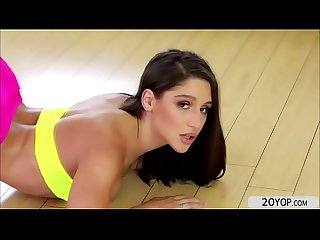 Hot babe abella danger shows off big butt for anal fuck