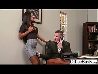 Slut office girl with big juggs enjoy sex movie 19