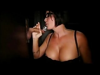 Busty MILF gets Showered with Cum at the Gloryhole - http://bit.ly/2bFKXq9