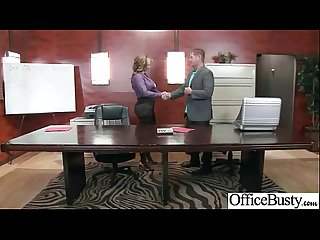 Eva notty busty girl enjoy hard sex in office mov 21