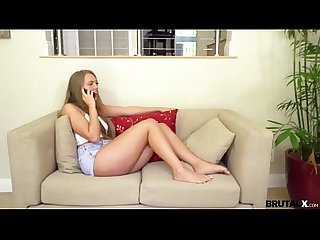 BrutalX - Step-D fucked and spanked raw Ashley Red
