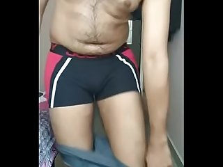 Indian Boy undressing