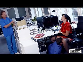 Bums buero busty german secretary banged by her colleague in hot office sex