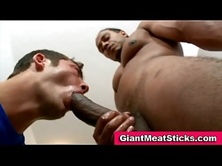 Gay big cock interracial ass fucking